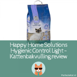 Kattenbakvulling Review: Happy Home Solutions Hygienic Control Light