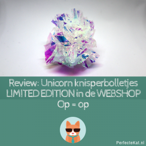 REVIEW- PerfecteKat.nl Unicorn Knisperbolletjes