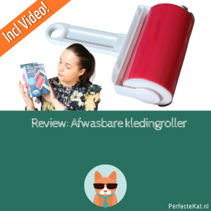 REVIEW: Afwasbare kledingroller? Incl. YouTube Video!